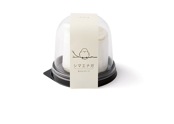 白カビタイプの「シマエナガ」710円