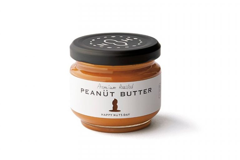 〈HAPPY NUTS DAY〉のピーナッツバター(粒あり)