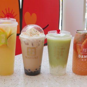 日本1号店が大阪道頓堀にオープン!中国で人気のティードリンクブランド〈奈雪の茶〉が上陸。