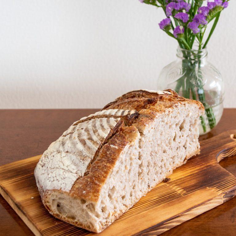 パン ド カンパーニュ(室温解凍120分/200度のオーブンで4分)。