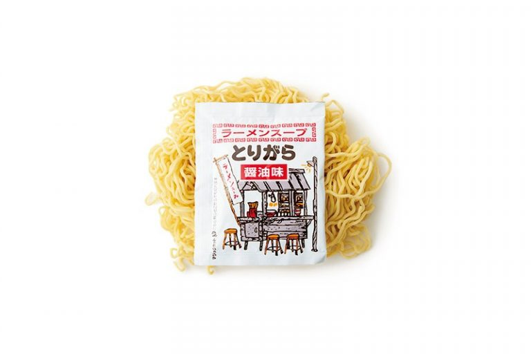 〈邦栄堂製麺〉の生中華麺