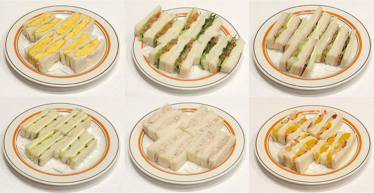 サンドゥイッチ各種670円〜
