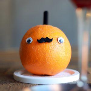 「まるごとオレンジジュース」500円