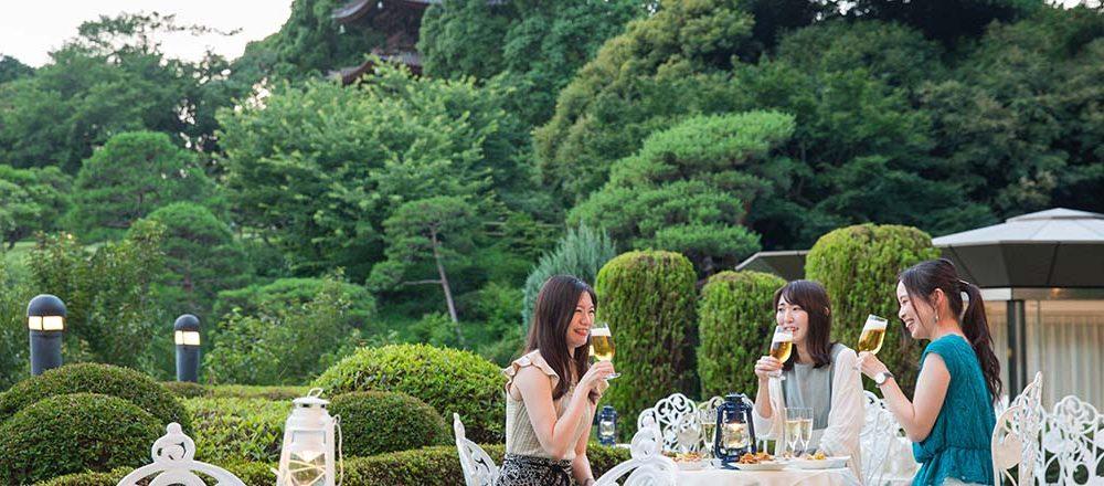 椿山荘ビアガーデンTOP