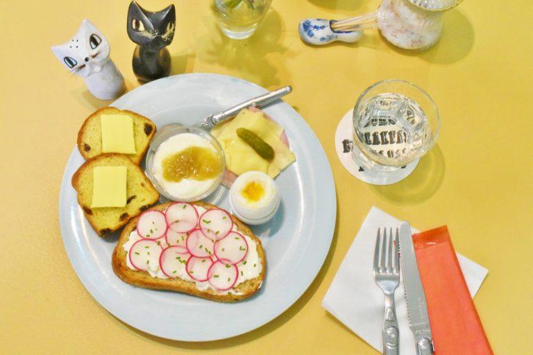 「ベルギーの朝ごはん」。