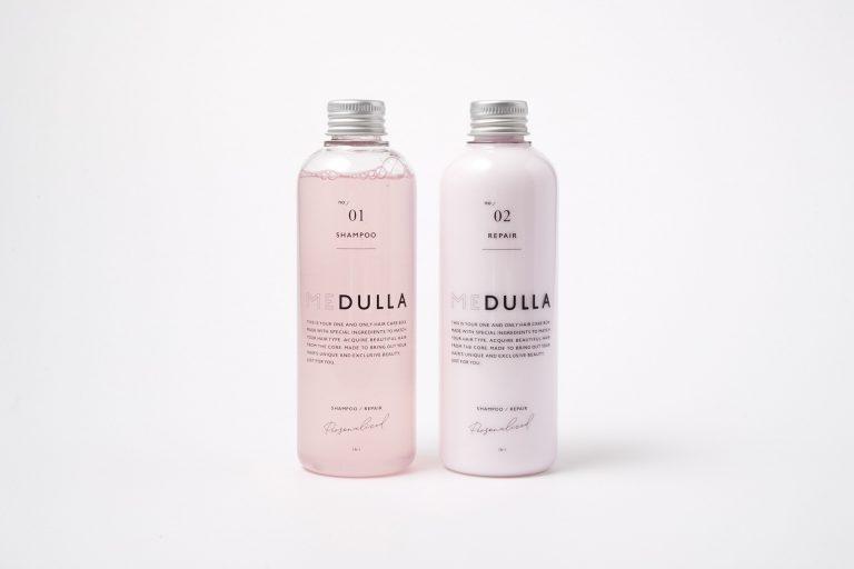 〈MEDULLA〉のオーダーメイドシャンプー&リペア