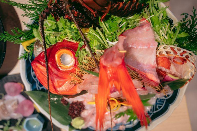 生簀からすぐに出して調理するので、どのお魚も新鮮そのもの!