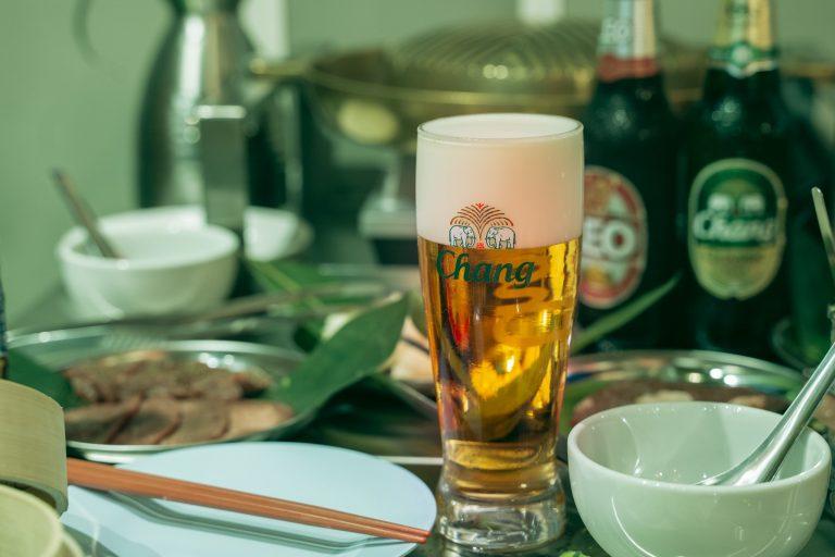 タイから日本初上陸の「チャーンビール」。日本人の味覚にも合うスッキリとした飲み口で、疲れた体に効きます!日本で飲めるのはここだけ。