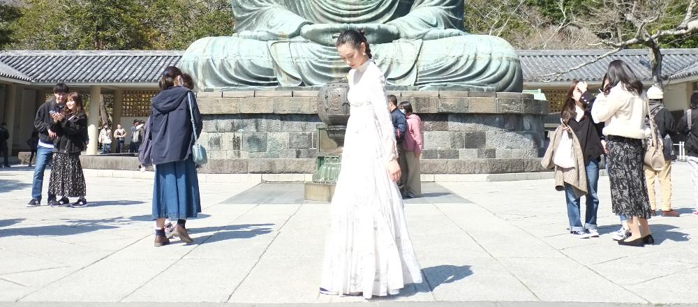安らぎの場所、鎌倉〈高徳院〉を参拝。国宝「阿弥陀如来坐像」は想像以上に迫力満点!