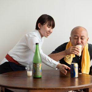 日本酒×ビール!禁断のなかけ合わせ!?
