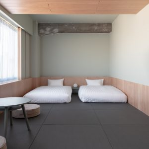 SUPERIOR 4 : Japanese-style Room、定員4名、22,000円〜。