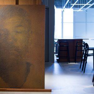 "KAIKA TOKYO AWARD 舘鼻 則孝 賞 / 加藤智大「iron-oxide painting ""W.S/T****68""」"