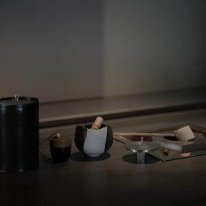 竹俣勇壱さん制作の茶道具。