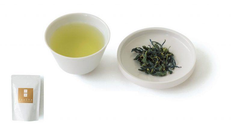「文山包種茶」50g 2,100円。