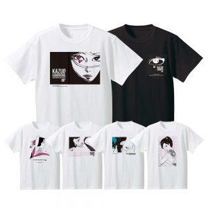 アートエキシビジョン「manazashi」オリジナルTシャツ、4,950円 (税込)。