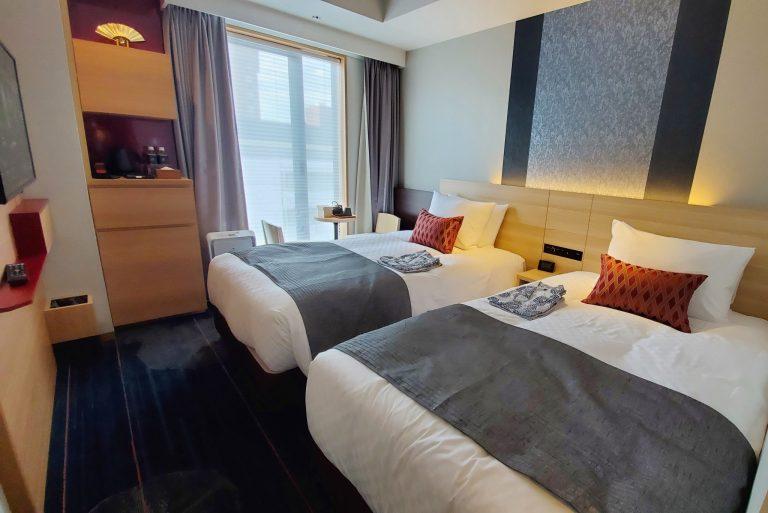 ホテル滞在中も京都を感じられるよう、落ち着いた雰囲気のお部屋になっています。