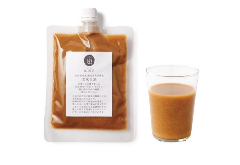 〈丸瀬家〉の玄米甘酒