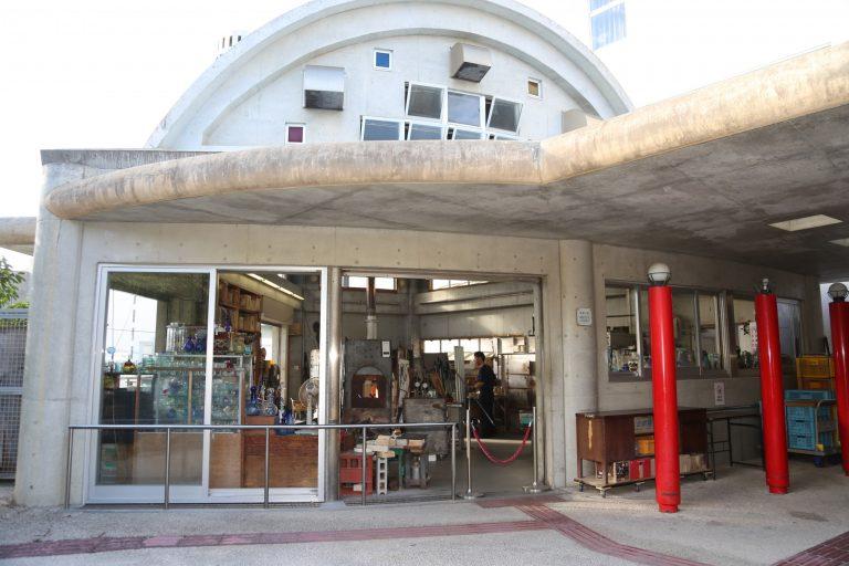 〈奥原硝子製造所〉沖縄