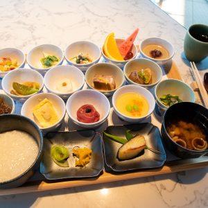 京都産の食材をたっぷり使った「和食膳」。