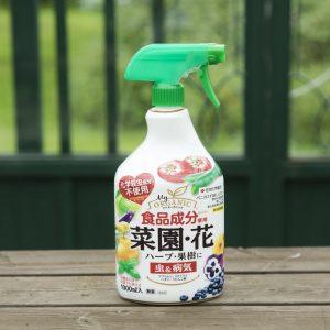 食品成分使用の殺虫剤