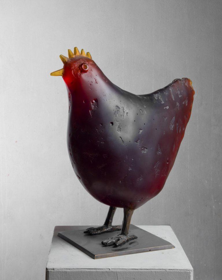 《Slepice / Hen》2016年 作家蔵撮影:Gabriel Urbánek