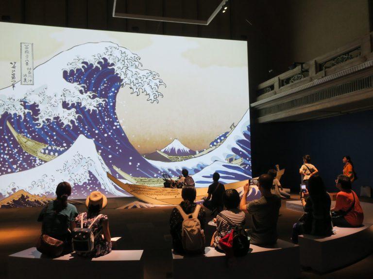 2018年 東京国立博物館での展示の様子