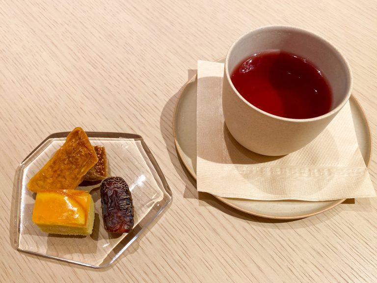 銀座〈Fruits Salon〉桃のフルコース4