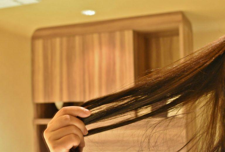 あれ?こんなに髪の毛長かったっけ?と思うくらいしなやかでサラサラ。