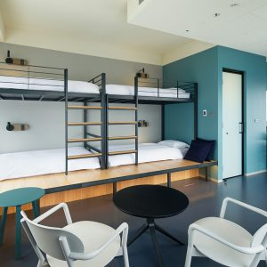 最大4人で泊まれる「Bunk Bed 4」。