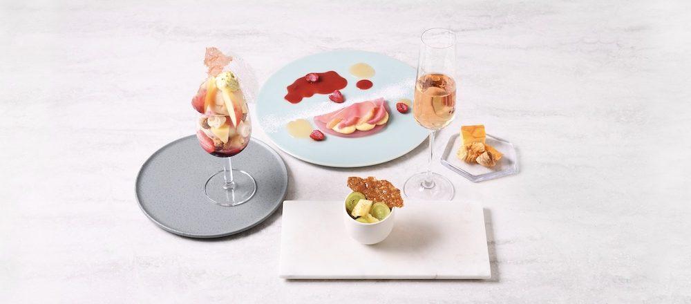 心躍る真夏は「白桃」が登場!銀座・完全予約制〈Beauty Connection Ginza〉で味わうフルーツのフルコース。