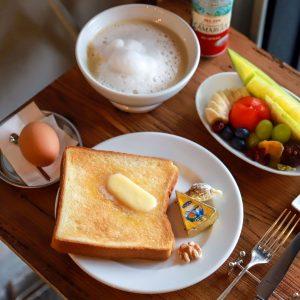 「Parisのカフェセット」2,500円(税別・カフェ・オレ+50円)※1日10食限定