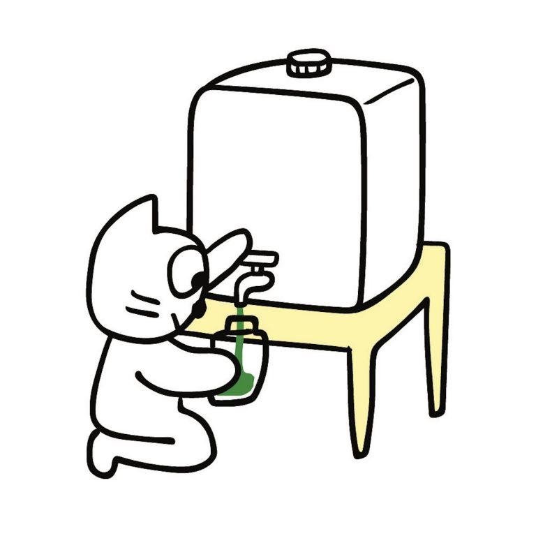 〈パタゴニア〉は洗剤の量り売りも。ごみが出ずノーストレス。(編集者、エッセイスト・中村暁野さん)