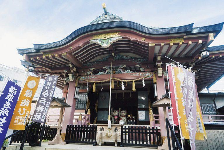 〈今戸神社〉/浅草