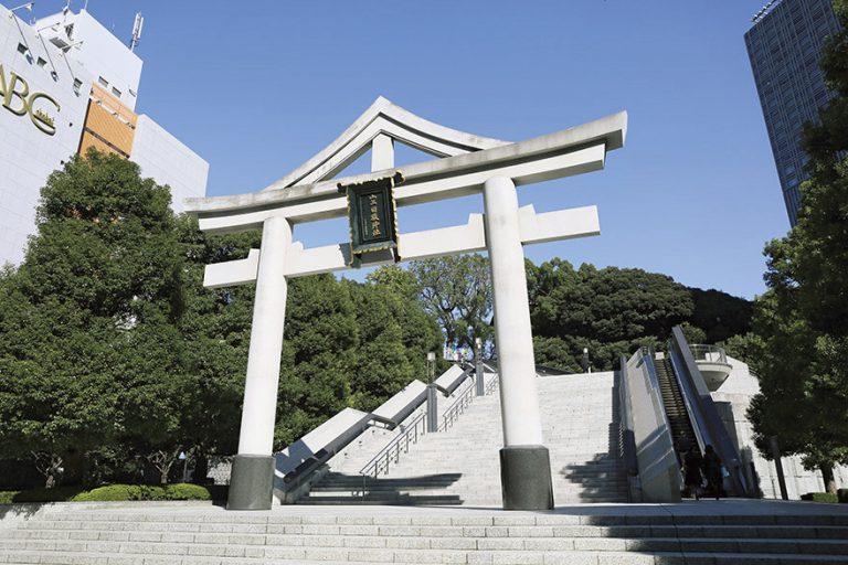 〈日枝神社〉/赤坂
