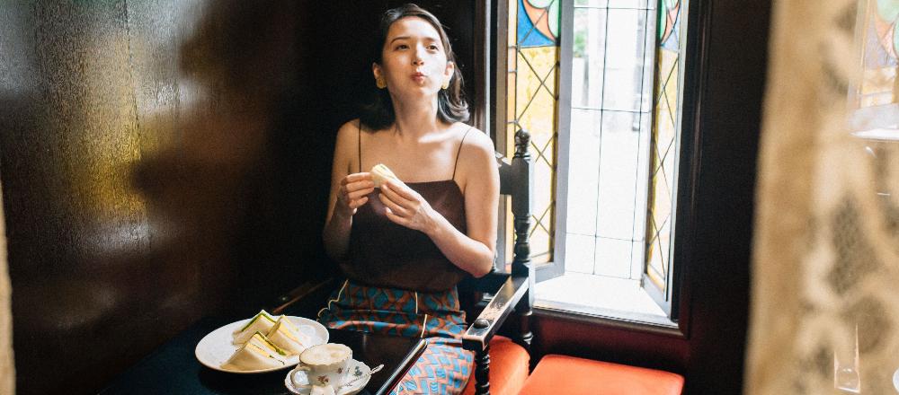 【京都】老舗喫茶店〈Salon de the FRANCOIS〉へ。イタリアンバロック様式の美しい店内にうっとり。/Alice in Cafeland