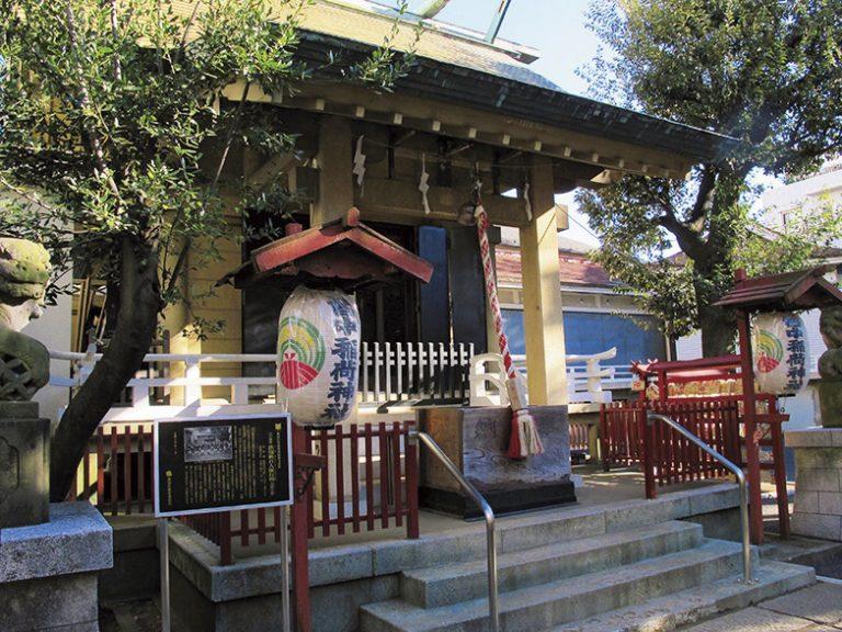 〈皆中稲荷神社〉/大久保