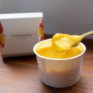 宮崎県産完熟マンゴーを贅沢に使用した「マンゴー」。