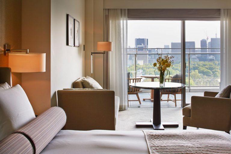 「グランドデラックスキング WITH バルコニー 55平米」のほか、さまざまなタイプの客室が選べます。