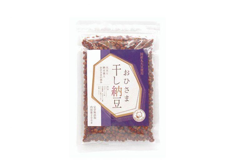 「おひさま干し納豆」200g 799円(税込)(カネニ花田商店 090-4717-9030)