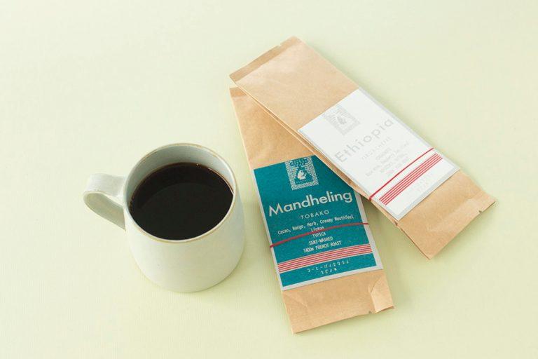 〈コーヒーと生活。タビノネ〉のコーヒー飲み比べセット