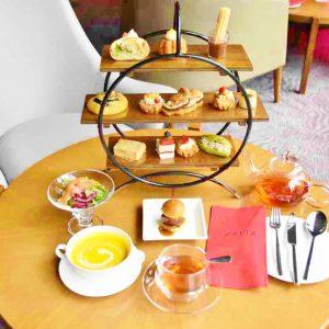 〈ヒルトン東京〉で期間限定開催!おかしとサンドイッチのランチ&アフタヌーンティー『プティ・ブーランジェリー』