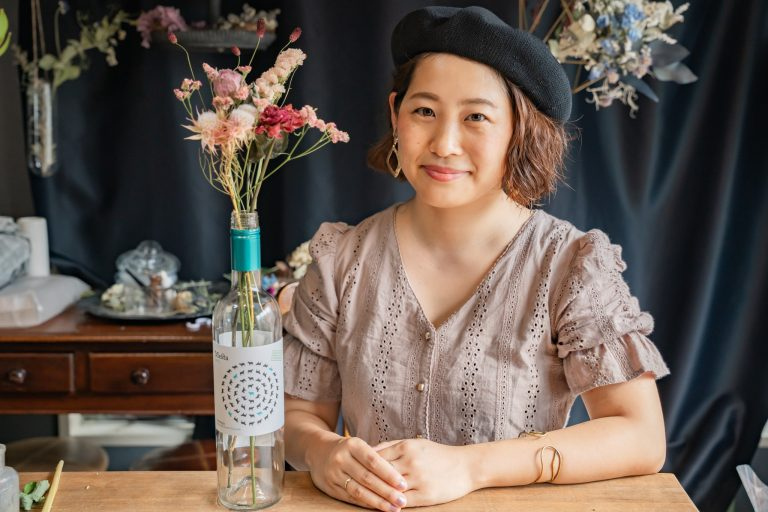 河島春佳さん メスタ メルシャン オーガニックワイン