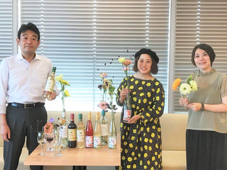 写真左より、山口さん、河島さん、長尾さん。