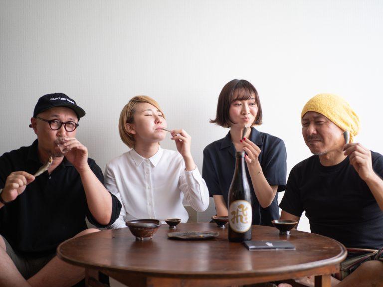 ふわふわの身とほろ苦さ、鮎の旨みが日本酒と抜群に合うんです!
