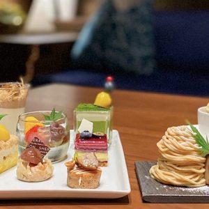 〈横浜ベイシェラトン ホテル&タワーズ〉で味わう、マロン尽くしのオーダースイーツブッフェ。