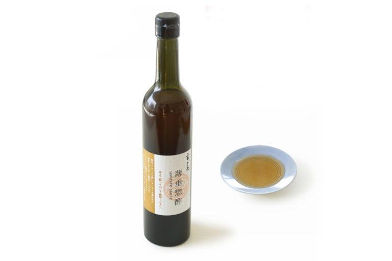 〈じき宮ざわ〉の宮ざわ特製の薄垂惣酢(ウスターソース)