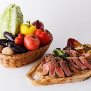「石垣牛 赤身肉のグリル 150g」2,900円。