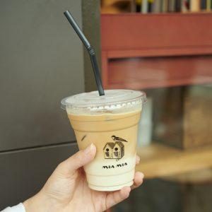 頼むのは、「カフェ ラテ」一択!「いまはカフェラテがとにかく好き」。