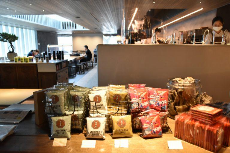手土産にもよさそうなドリップコーヒーなども販売。