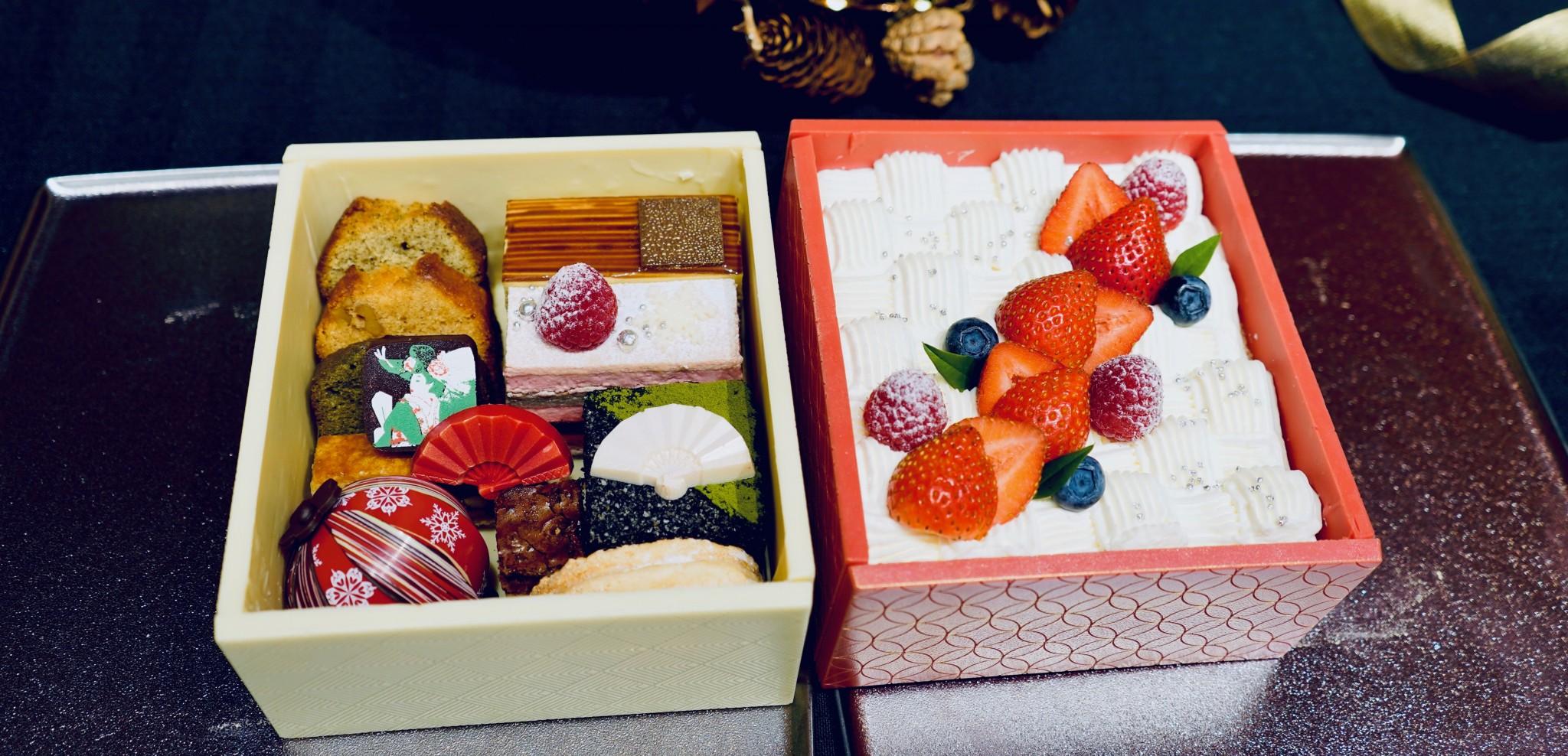 """美しすぎる""""玉手箱""""も!〈ホテル雅叙園東京〉のクリスマスケーキの予約が10月1日からスタート。"""